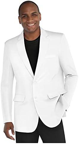 Unisex Adult Blazer | White | Large | 1ct