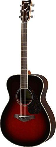 Yamaha FS830 Small Body Solid Top Acoustic Guitar, Tobacco Sunburst