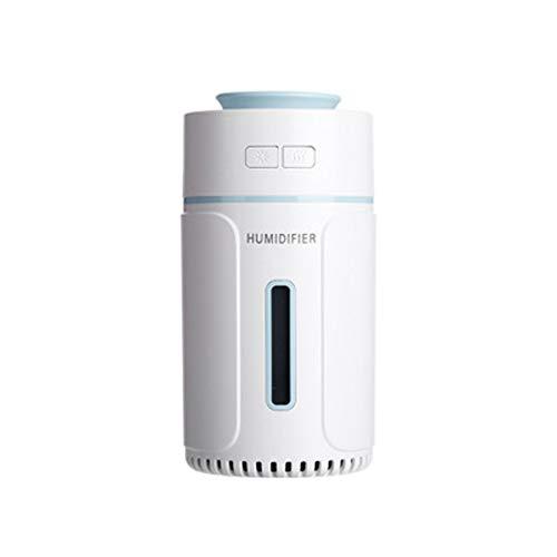 Luftbefeuchter Zerstäuber Diffusor ätherisches Öl Aroma Ultraschall USB LED 7 Farblichter Portable Desktop Mini Zerstäubung Büro Auto Spray Auto Yoga Spa Schlafzimmer Babyzimmer 100ML