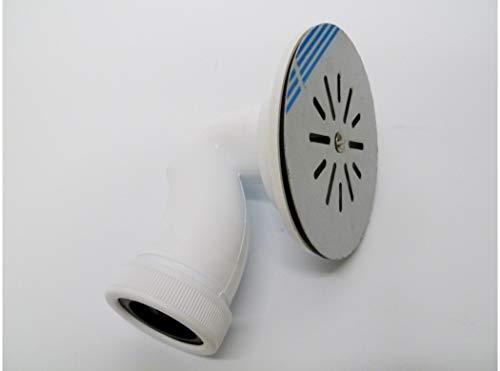 Saneaplast Metalsant. 751752 - Valvula fontan p.ducha 115mm sifon pvc/inox bl s&m