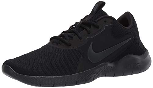 Nike Mens Flex Experience RN 9 Running Shoe, Black/Dark Smoke Grey, 45 EU