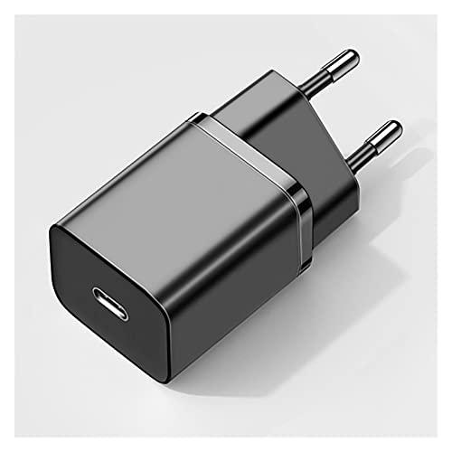 Pxbhd PD 20W Carga rápida QC3.0 QC USB Tipo C Cargador de Carga rápida para i-Phone 12 Pro para S-Amsung para el Adaptador de Cargador de teléfono móvil de X-IAOMI