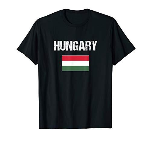 Ungarn Flagge Ungarisches Geschenk Hungary T-Shirt