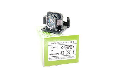 Alda PQ-Premium, Lámpara de proyector para HITACHI ED-A220N Proyectores, lámpara con Carcasa