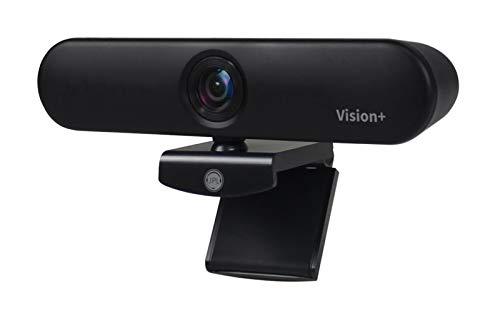 JPL Vision & Voice Webcam für Zuhause oder Büro, USB 1080p, Schwarz