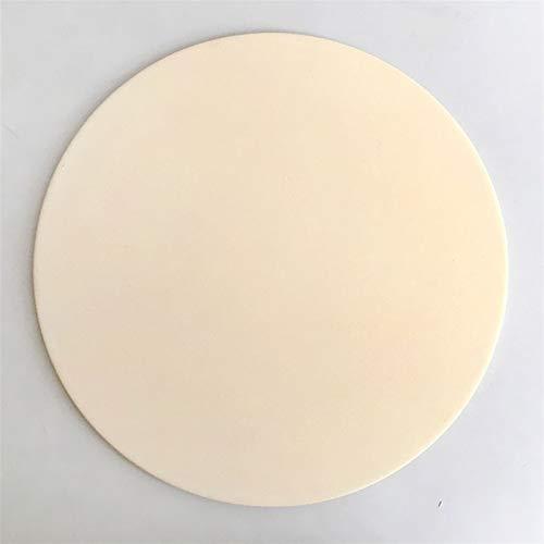 SLAKF Uso en casa Pizza al Aire Libre 10 y 13 Pulgadas de cerámica refractaria Pizza de Horno de Piedra Pan Cocinar Bandeja for el Horno moldes para Pizza (Color : 10 Inch Stone Only)