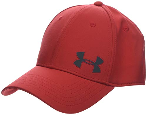 Under Armour Men's Headline 3.0 Cap Gorra, Hombre, Rojo (Barn/Barn/Pitch Gray 633),...