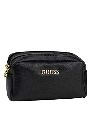 Guess Ariane Double Zip Pouch Black
