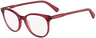 Longchamp LO2608, Acetate Sunglasses Red Unisex Adult, Multicolor, Standard