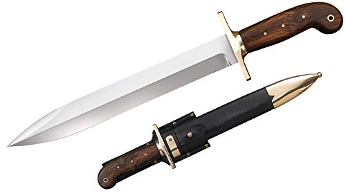 Cold Steel 1849 Rifleman's Knife, Brown/Silver, 12'