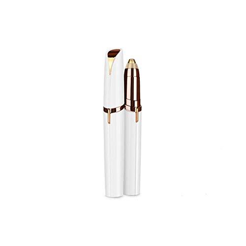 SLKIJDHFB Epilatore per sopracciglia Trimmer elettrico indolore per donne con luce LED Epilatore portatile per la rimozione dei peli delle sopracciglia per naso, sopracciglia,