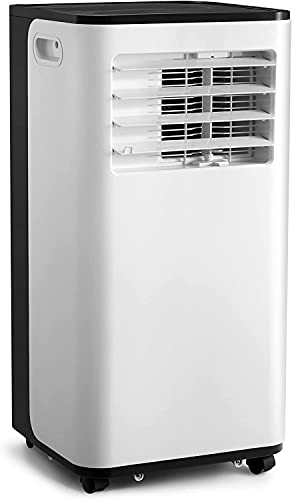 Portable Air Conditioner,8000 BTU Portable AC with Cooler, Dehumidifier, Fan, Cools Rooms up to 200 sq.ft Remote Control,Complete Window Mount Exhaust Kit