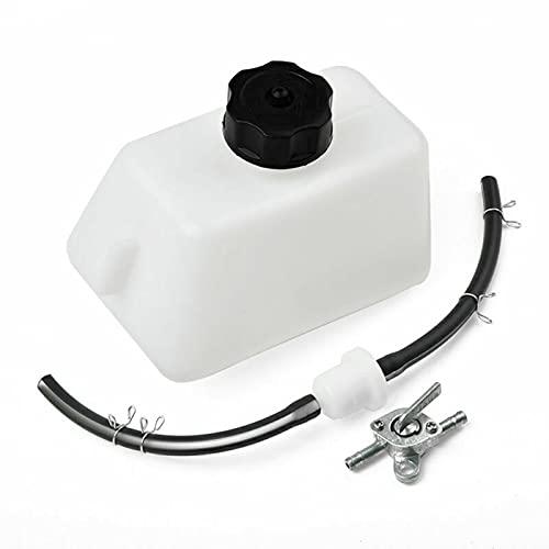 OrangeClub Gas Kraftstofftank Filter Schlauchleitung mit Schalter, für 47cc / 49cc-2-Takt Mini Moto Kinder Dirt Pocket Bike