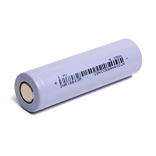 Celda de Litio K-Tech INR18650P 2500mAh - 12.5A 9.25Wh