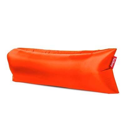 Fatboy® Lamzac The Original 3.0 Tulip Orange | Aufblasbares Sofa/Liege, Sitzsack mit Luft gefüllt | Outdoor geeignet | 185 x 83 x 50 cm