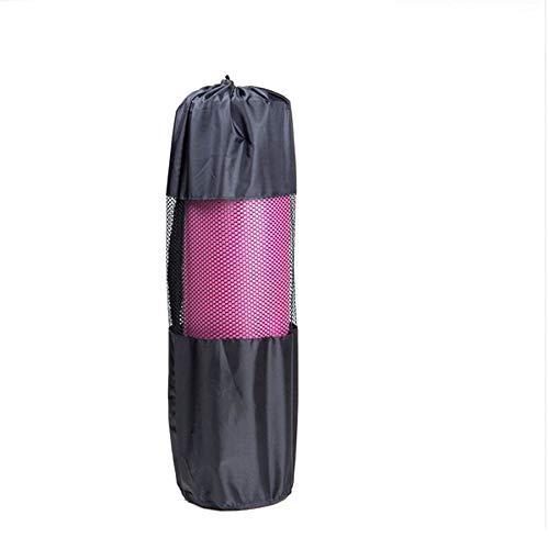 takestop® yogamat pilates tas met verstelbare riem voor heren en dames op canvas