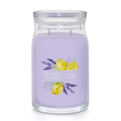Yankee Candle Lemon Lavender Signature Large Jar Candle