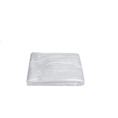 140PCS Disposable Bath Sauna Plastic Sheets Beauty Salon Hotel Salt Bath Bed Incontinence Care Waterproof Bedding Protector Ideal for Easy Cleaning (Clean, 80×180 cm)