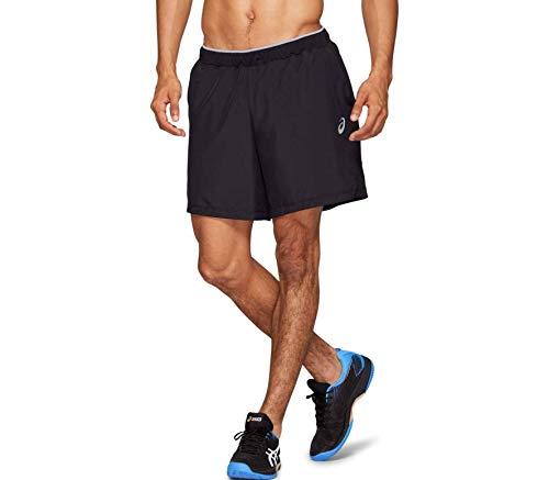 ASICS Club M 7In Short Pantalón Corto, Hombre, Performance Black, XL