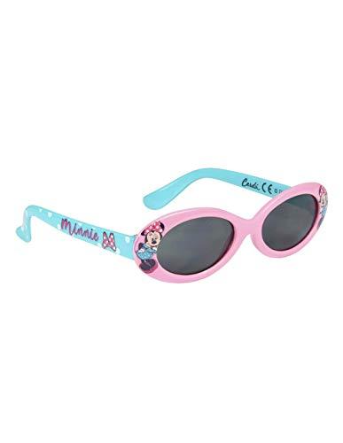 Gafas de sol con funda para niña, diseño de Minnie, color rosa y azul rosa/azul Talla única