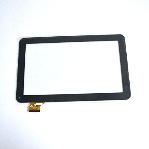 Negro Color EUTOPING  De Nuevo 10.1 Pulgadas Pantalla tactil Digital La sustitución de para SPC Glee 10.1 3G Quad Core