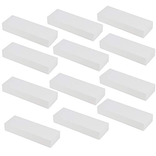 Juvale Foam Rectangle Blocks, Arts and Crafts Supplies (12 x 4 x 2 in, 12-Pack)