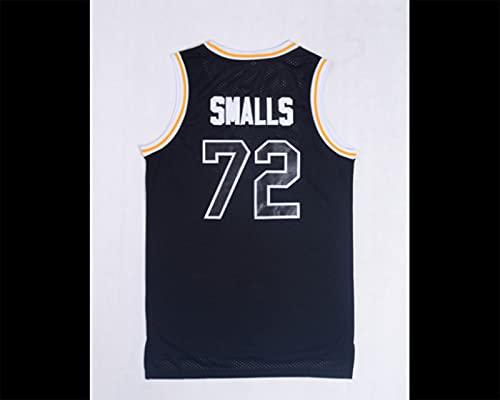 Nealpar Camisetas de Hombre # 72 Camisetas de Baloncesto Chaleco Transpirable,Black,L