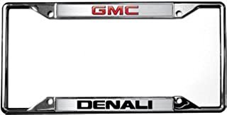 GMC Denali License Plate Frame - Chrome