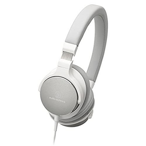 Audio-Technica ATH-SR5 Diadema Binaural Alámbrico Blanco - Auriculares (Alámbrico,...
