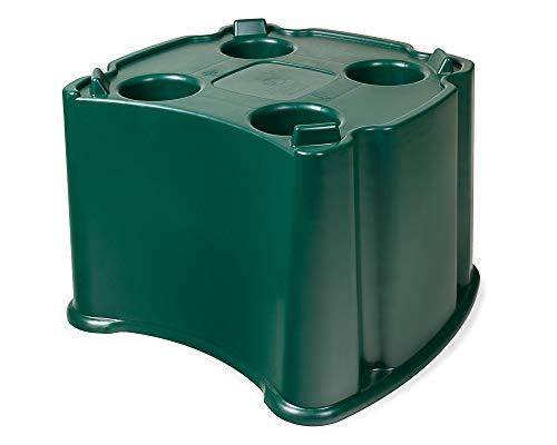 Ondis24 Ständer für Regentonne, Wassertank Ecotank 200/300 Liter geeignet, Standfläche extra 37cm Höhe, Regentank Garten