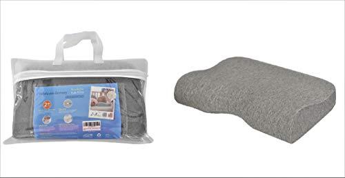 HelpAccess Memory-Schaumstoff-Kinderkissen, Bezug aus Bio-Baumwolle, atmungsaktives Kinderkissen für 2-14-jährige Kinder