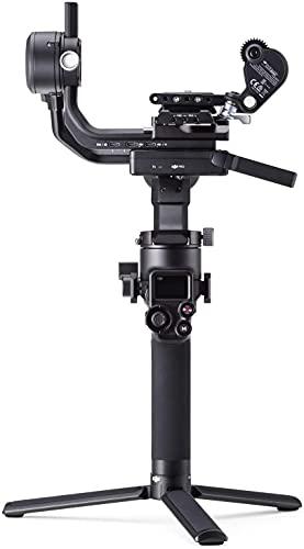 DJI RSC 2 Pro Combo - Stabilizzatore Gimbal a 3 Assi per DSLR e Fotocamera Mirrorless, Nikon Sony Panasonic Canon Fujifilm, Ronin SC, 3 kg di Carico, Trasmettitore di Immagini, Focus Motor - Nero