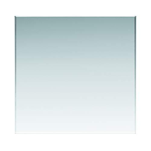Glasplatten ESG 8mm, klar durchsichtig. Nach Maß bis 50 x 190 cm (500 x 1900 mm), Kanten geschliffen und poliert, Ecken gestoßen. ESG ohne Stempel, biege- und stoßbelastbar.