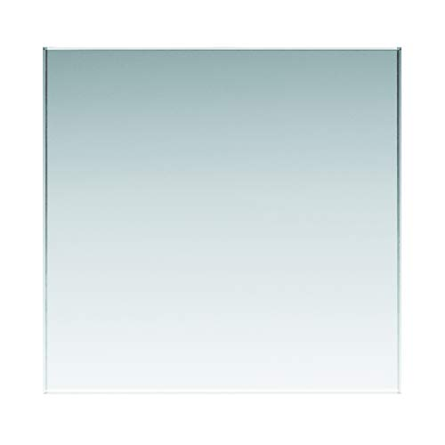 Glasplatten ESG 4mm, klar durchsichtig. Nach Maß bis 90 x 180 cm (900 x 1800 mm), Kanten geschliffen und poliert, Ecken gestoßen. ESG nach DIN, biege- und stoßbelastbar.