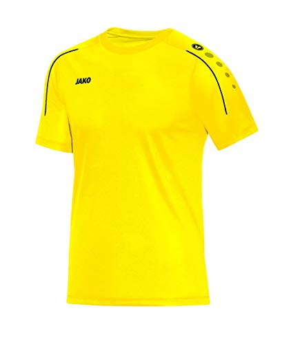 JAKO 'Classico T Shirt, Uomo, Classico, Citro, 4XL
