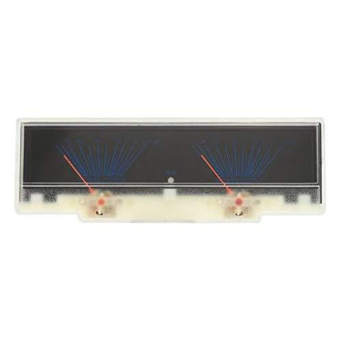 Sharplace Amplificatore Di Potenza Pannello Dual Analog VU Metro Livello Audio DB