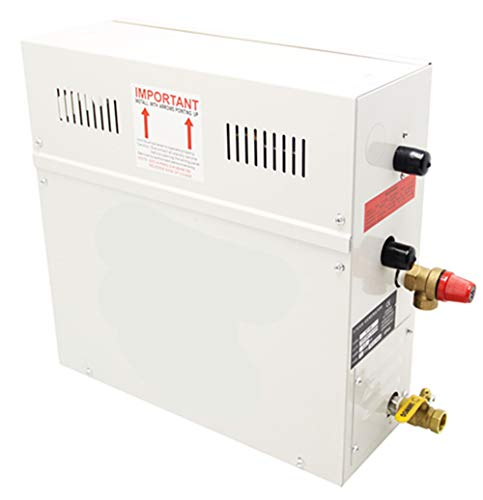 Newry - Generatore di vapore digitale per sauna e bagno, 4,5 KW, per bagno e doccia, per 4 m3 spazi, 220.00V