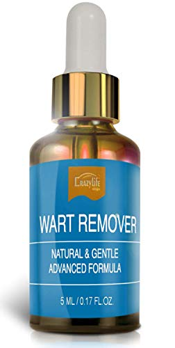 Wart Remover Liquid Rapidly Eliminates Both Plantar and Common Warts, Papillomas, Skin Tags with no Harm and Irritation | Advanced Natural Formula | Effective Painless Wart Removal Treatment (5ml)