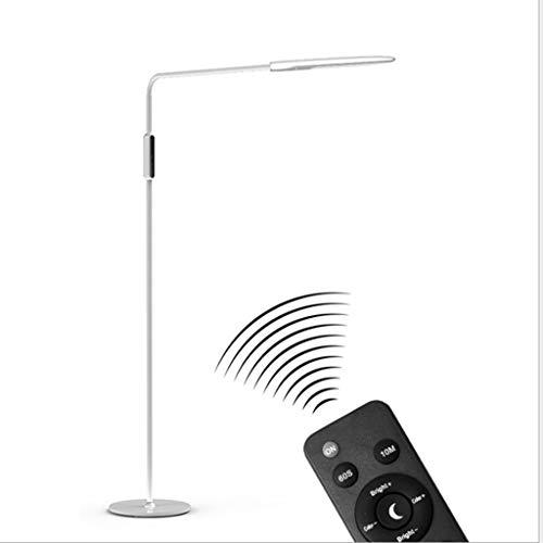 Stehlampen. Einfaches Stehlampe Nordic Haus Wohnzimmer Schlafzimmer Klavier Study Lesen Augenschutz Vertikale Licht Büro Hotel Ferngesteuertes Stehleuchte Piano Licht (Color : B)