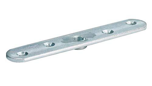 Anschraubplatte für Schiebetore - für Typ 40