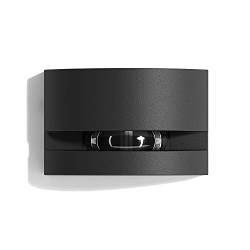 Lampenlux Gix - Lámpara LED para exteriores (330 lm, 6 W, 3000 K, IP65), color gris antracita