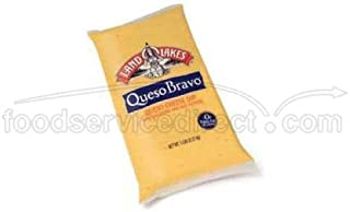 Land O Lakes Queso Bravo Queso Cheese Dip, 5 Pound -- 6 per case.