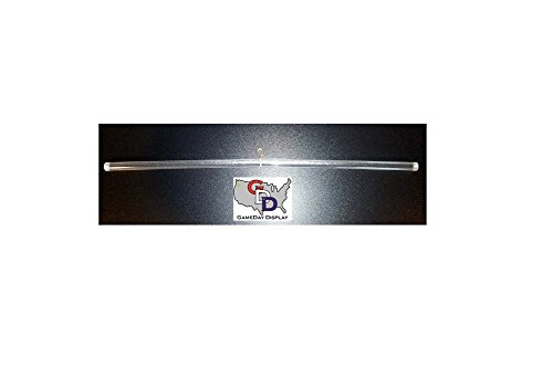 GameDay Display Clear Acrylic Jersey Display Hanger
