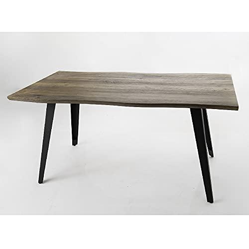 Mesa de comedor de madera y metal Joe