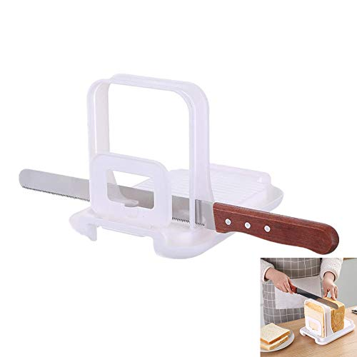 Adjustable Bread Slicer and Stainless Steel Bread Knife,bread slicers for homemade bread