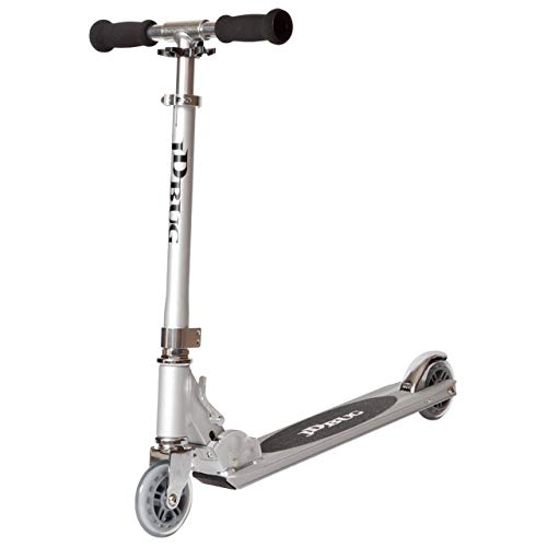 JD Bug Original Street Scooter - Silver by JD Bug