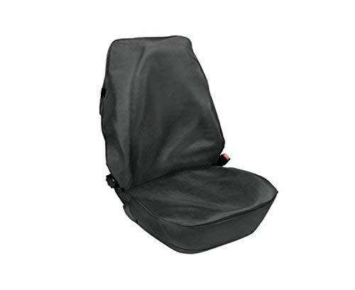 pitshop24de Schonbezug Sitzschoner - Werkstatt Sitzbezug. Langlebige Kunstleder mit Zwei Befestigungshaken Wasserdicht und Ölbeständig.