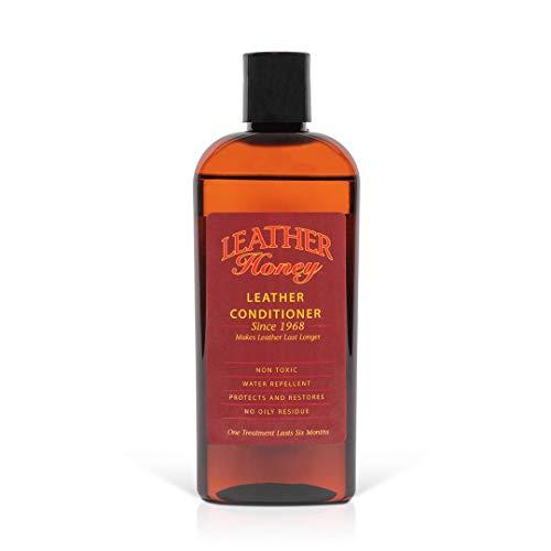 Leather Honey Lederpflegemittel, das Beste Lederpflegemittel seit 1968, 8 Oz Flasche. Zur Verwendung auf Lederbekleidung, Möbeln, Autoinnenräumen, Schuhen, Taschen und Accessoires