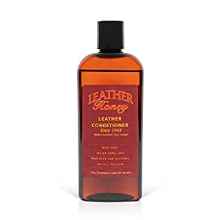 Leather Honey Leather Conditioner, Best Leather Conditioner Since 1968. for use on Leather Apparel, Furniture, Auto Interiors, Shoes, Bags and Accessories. Non-Toxic and Made in The USA! (B003IS3HV0) | Amazon price tracker / tracking, Amazon price history charts, Amazon price watches, Amazon price drop alerts