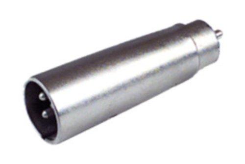 Audio Adapter XLR Cannon Stecker auf RCA männlich Mikrofon